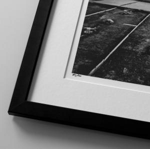 Fotopapír satin v rámu